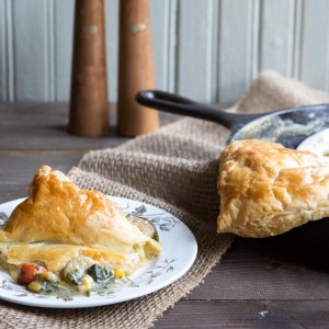 Warming and Tender Chicken Mushroom Pie
