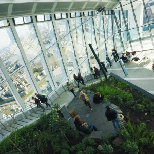 Views from the Sky Garden in London
