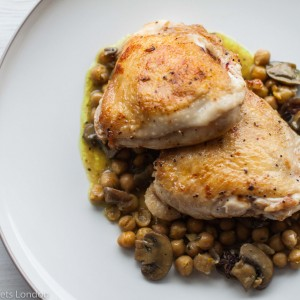 French Brasserie Inspired – Poulet à l'Estragon