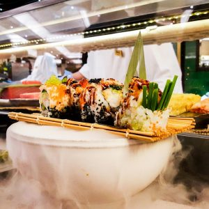 Luxury Sushi in London at Pan Chai